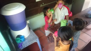 Mehr Trinkwasser für die Kinder